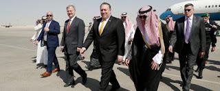 Pompeo meets Saudi king over Khashoggi case
