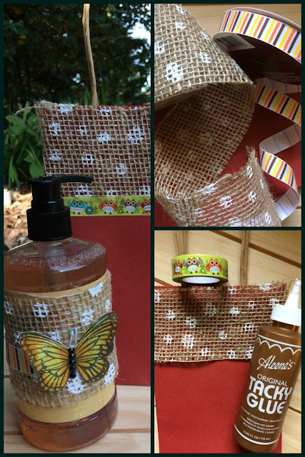 Make a customized gift for a friend or neighbor using items from the dollar store!