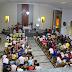 Fiéis participam da abertura dos Festejos em homenagem a Nossa Senhora de Fátima, em Ponto Novo