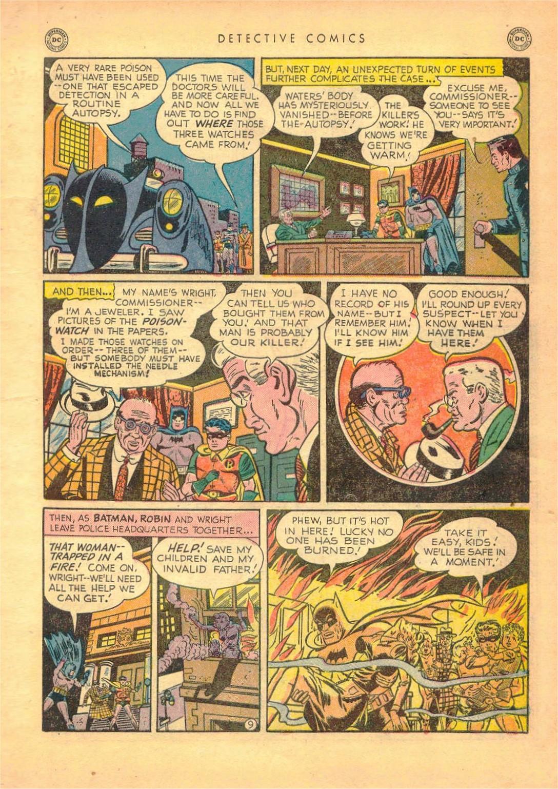 Read online Detective Comics (1937) comic -  Issue #161 - 11