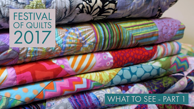 Festival of Quilts 2017 What to see Part 1