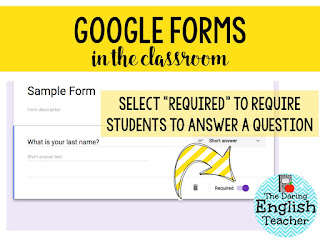 There are many advantages to using Google Forms in your classroom. It's so easy, and the possibilities are endless!