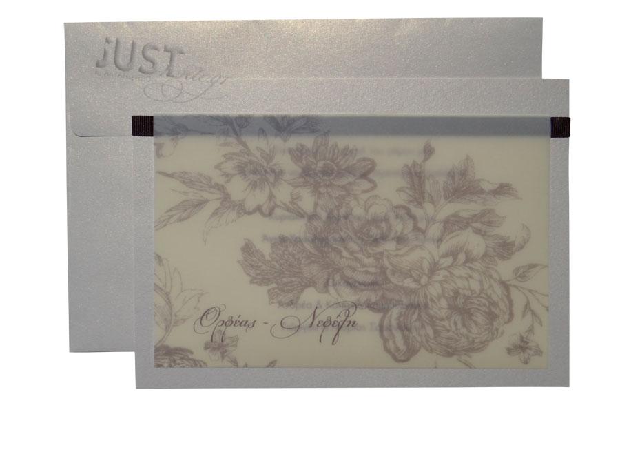 Vintage wedding invitations A902
