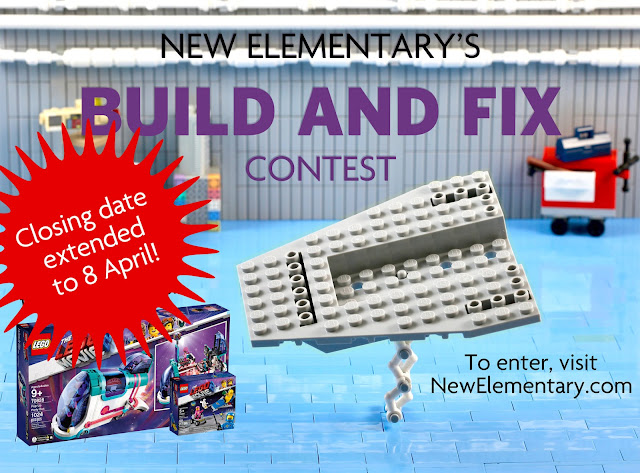 Contest: closing date extended | New Elementary, a LEGO® blog of parts