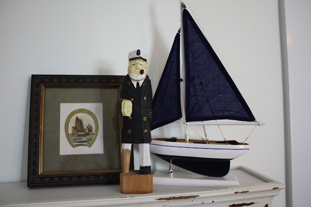 Antique Nautical Bathroom Ideas: Sea Glass Cottage : Boy's Bedroom Makeover