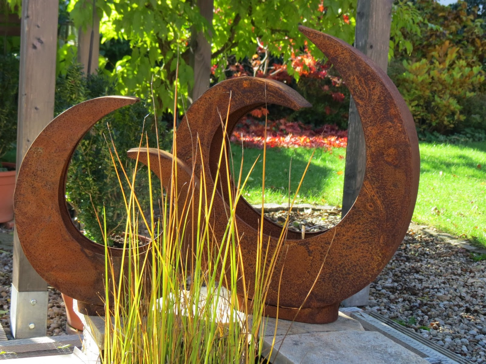 Elegant Gartenstecker Rost Ideen