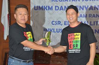 Kegiatan Sosial Bersama Perbarindo dan OJK, Plt Bupati Nur Arifin Harapkan BPR Berikan Kepercayan Kepada Masyarakat