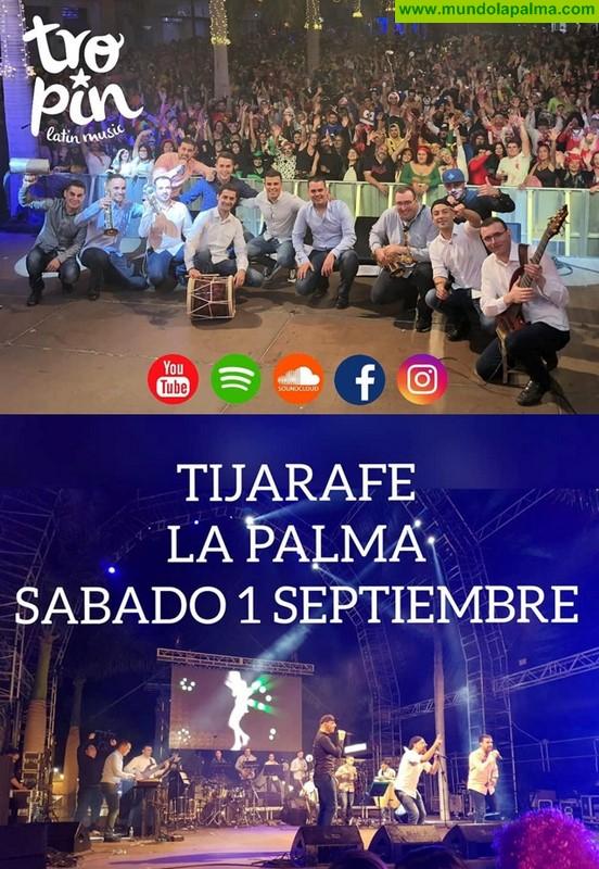 Grupo Saoco, Orillas del Son y Orquesta Tropin Latin Music en Tijarafe