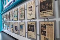 Periódicos tras la gesta