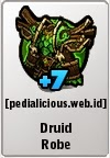 Rare Gear LostSaga Druid Robe