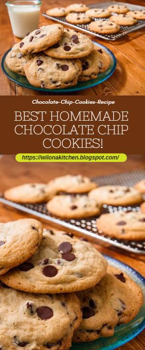 Best Homemade Chocolate Chip Cookies