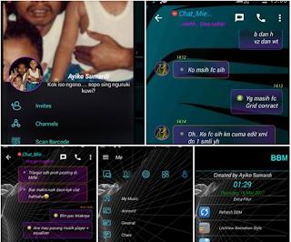 Download BBM MOD C5C Apk v3.3.1.24 Full Color Terbaru