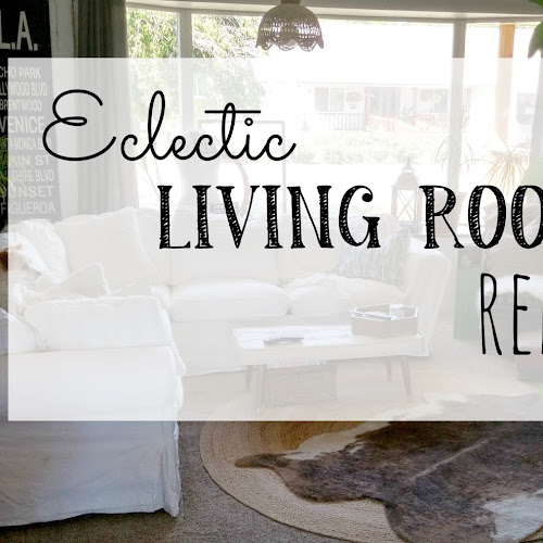 Eclectic Living Room Refresh