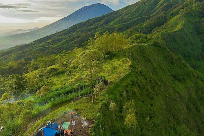 Tempat Kemah di Bukit Terunyan Kintamani Bangli Bali