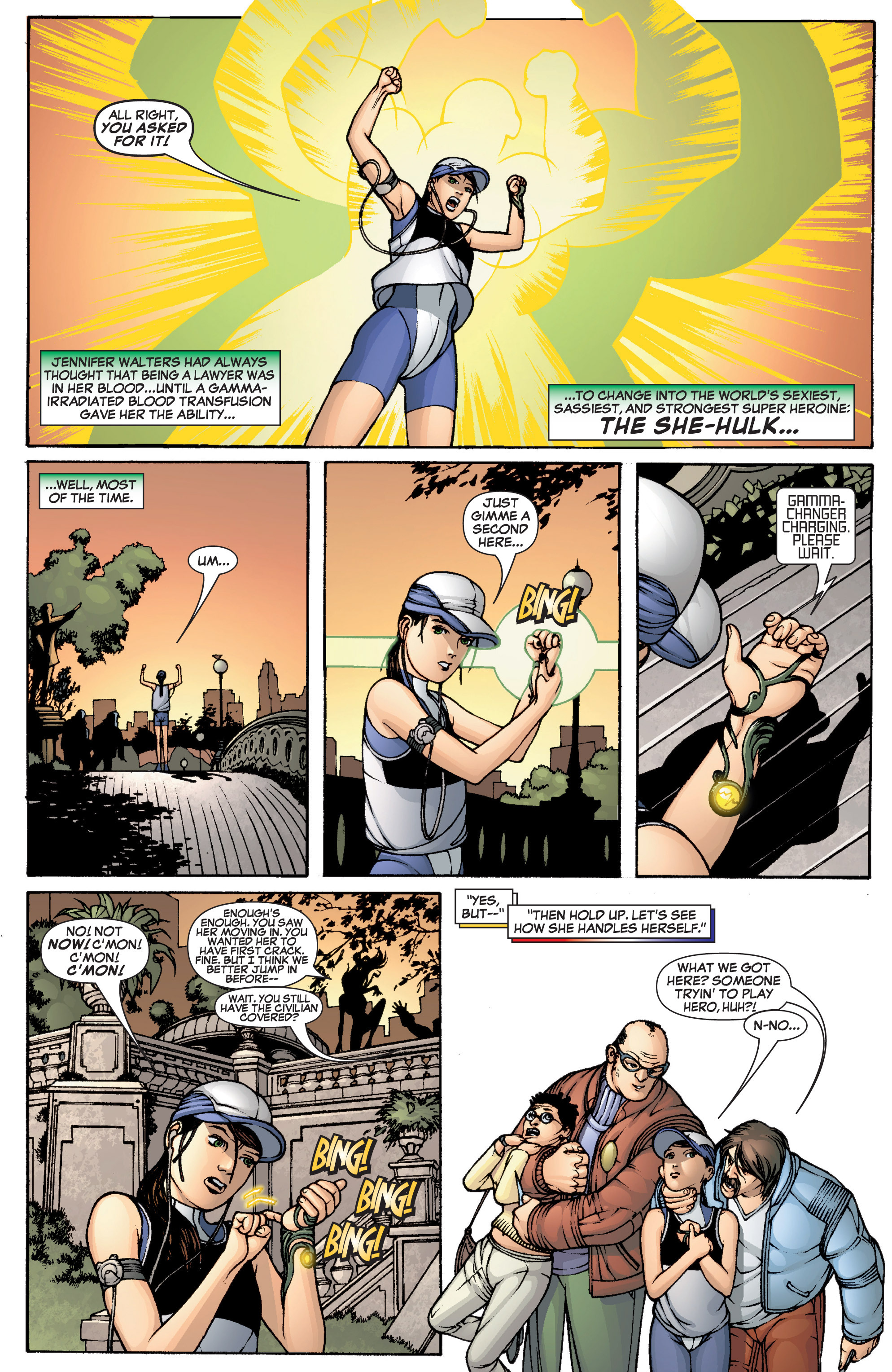 Read online She-Hulk (2005) comic -  Issue #1 - 3