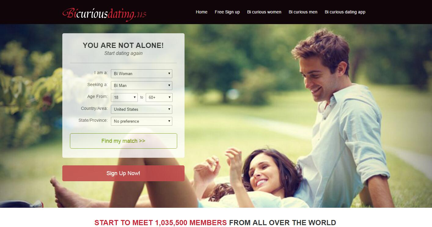 Free bicurious dating sites