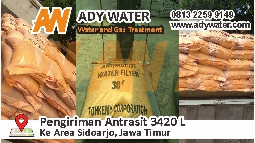 harga antrasit, menjernihkan air, bahan filter air