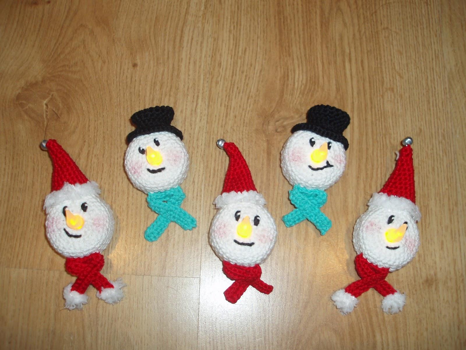 Amigurumi Haaksels Kerst Groet