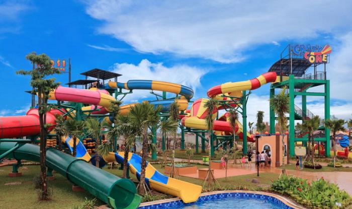 wisata bekasi Transera Waterpark Harapan Indah