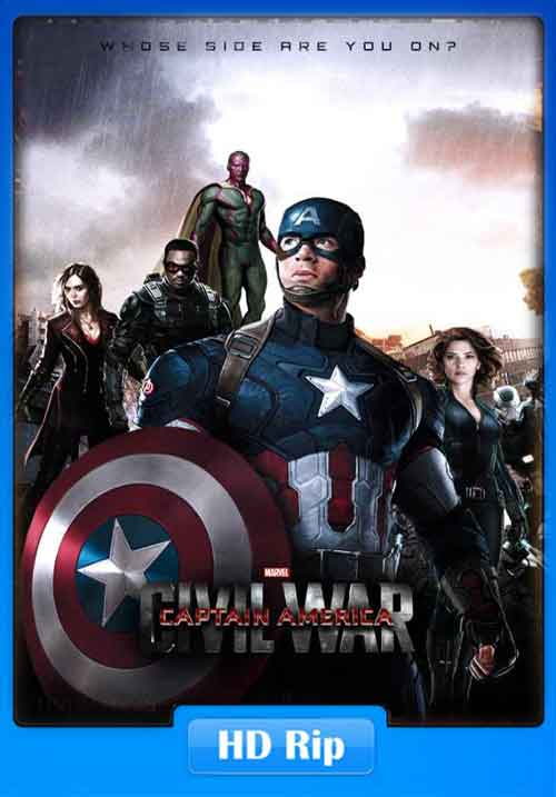 Captain America Civil War 2016 HDCam 720p 500MB