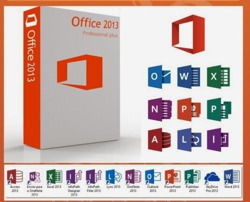 Baixar Office 2013 Completo em Português- BR (32 e 64 Bits)