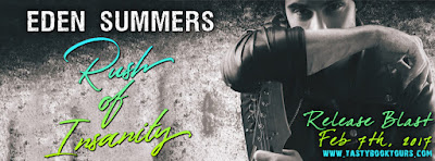Release Blast & Giveaway:  Rush of Insanity – Eden Summers