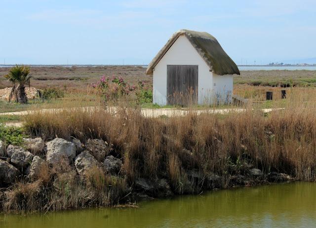 Vivienda típica del Delta del Ebro