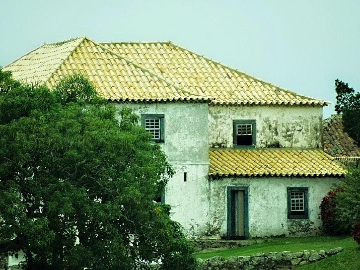 Casa do Comandante, Fortaleza de Santa Cruz de Anhatomirim, em Governador Celso Ramos