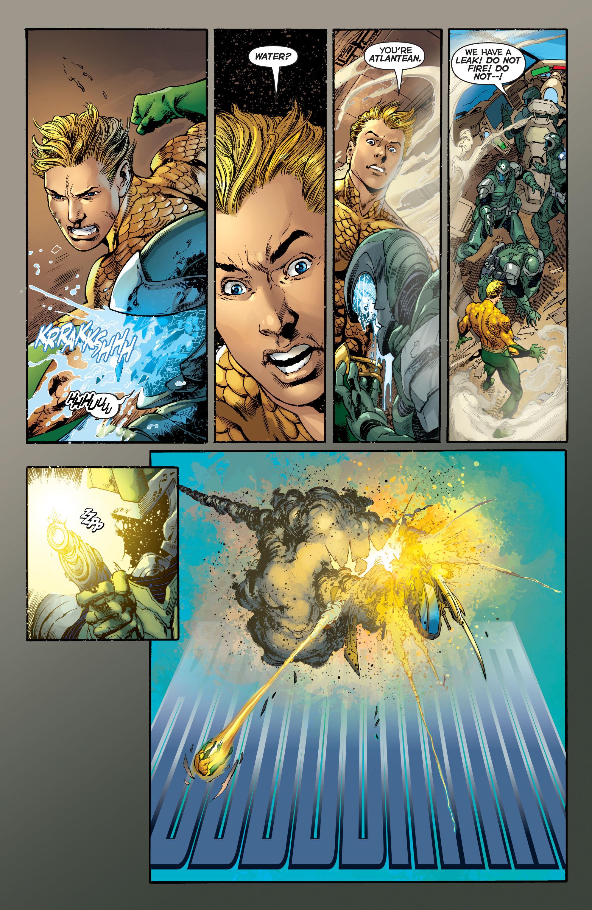 Read online Aquaman (2011) comic -  Issue #5 - 17