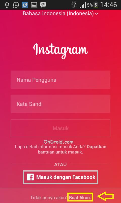 Cara Daftar Akun Instagram Terbaru di Android Dan PC