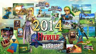 2014 overview image with art, screens and merchandise