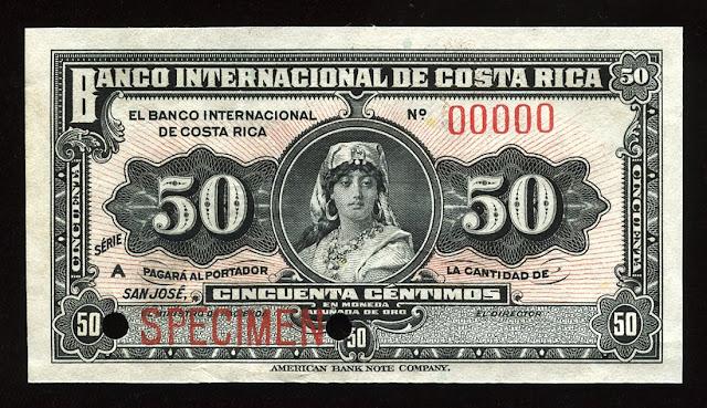 Costa Rica Cincuenta centimos