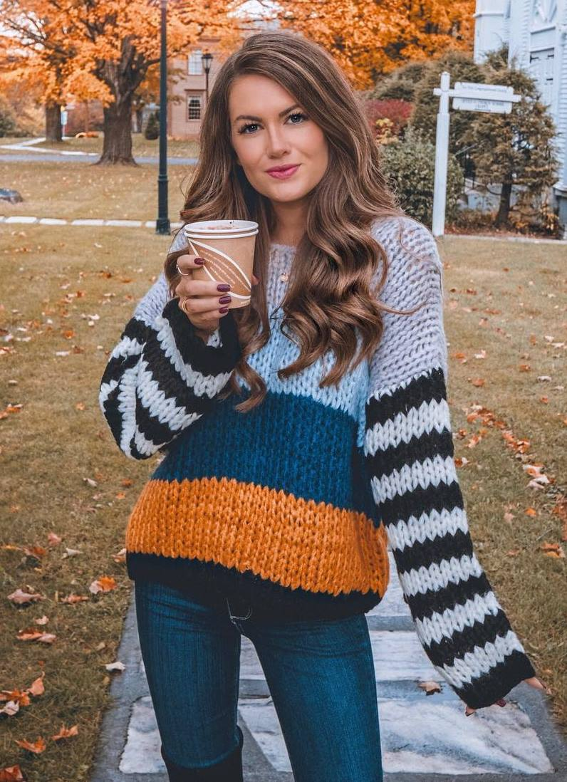 ootd | oversized sweater and jeans