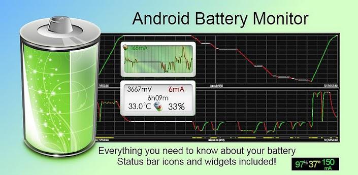 حافظ على الطاقه Battery Monitor Widget Pro