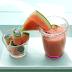 Rezept: Erfrischungsgetränk - Himbeere, Melone, Minze