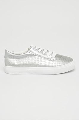 Answear - Pantofi sport dama argintii