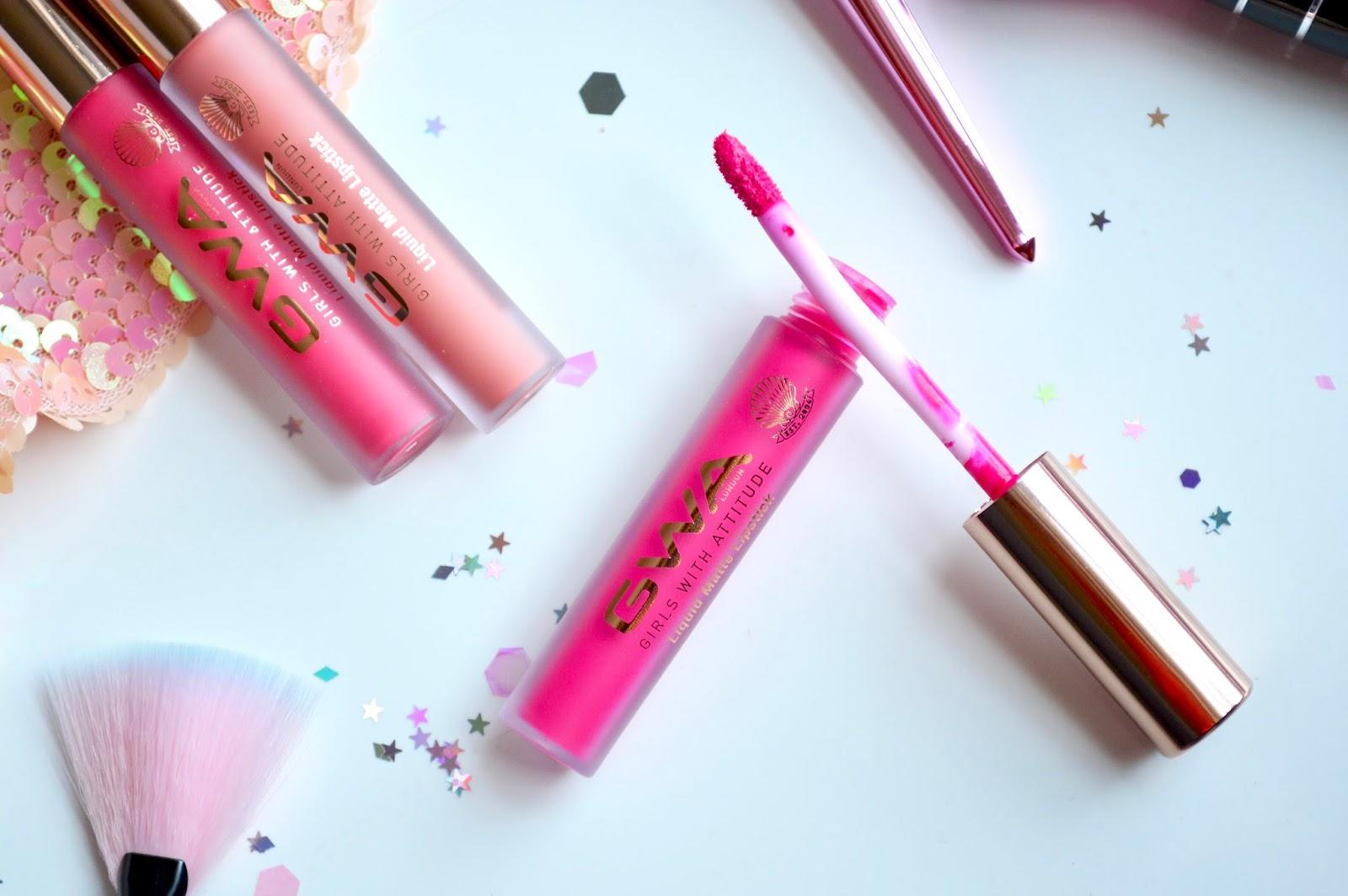 Girls With Attitude Liquid Matte Lipsticks