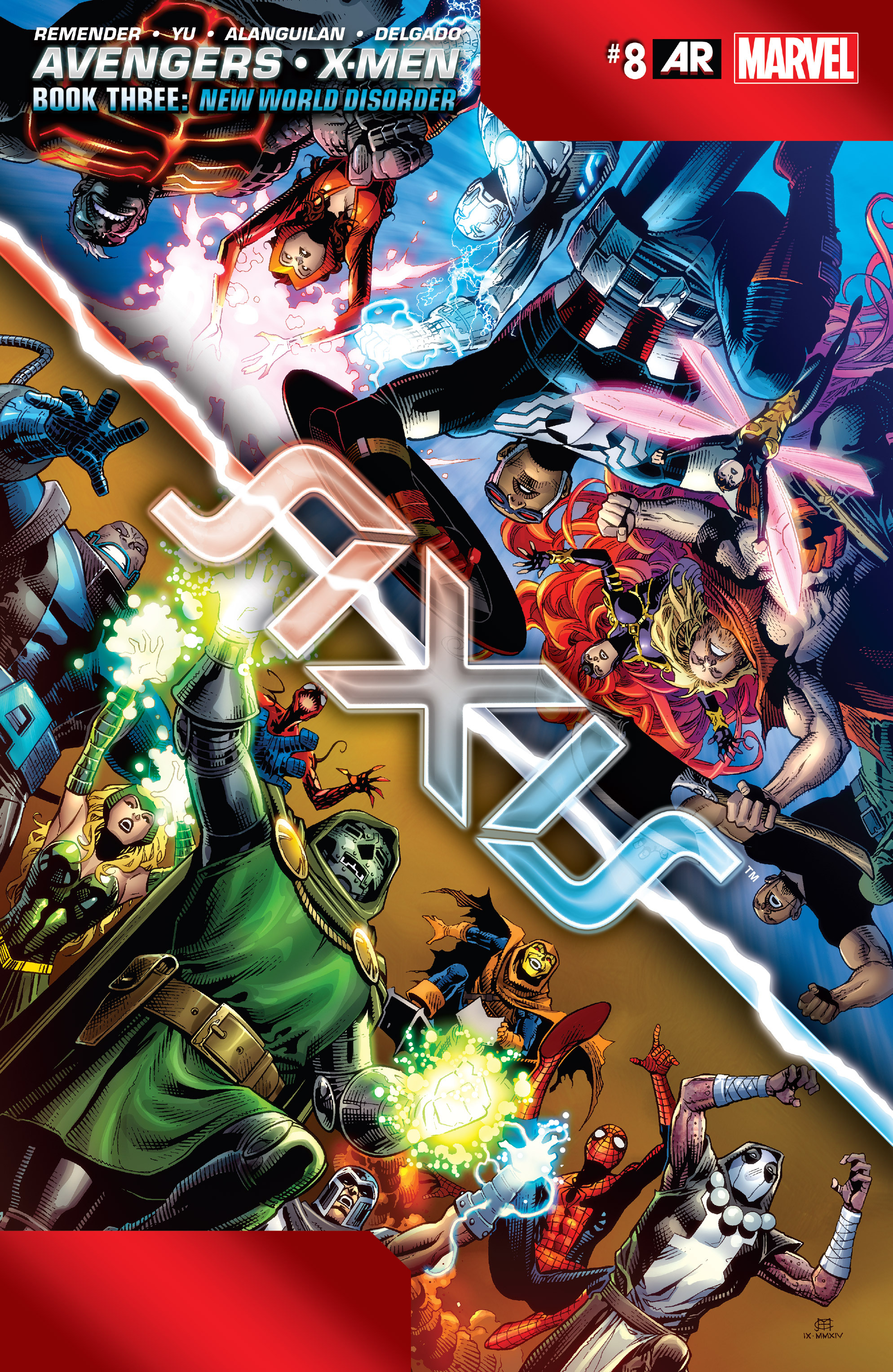 Read online Avengers & X-Men: AXIS comic -  Issue #8 - 1
