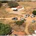 Imagens aéreas mostram buscas por criminosos que mataram cabo da PM no Oeste potiguar!