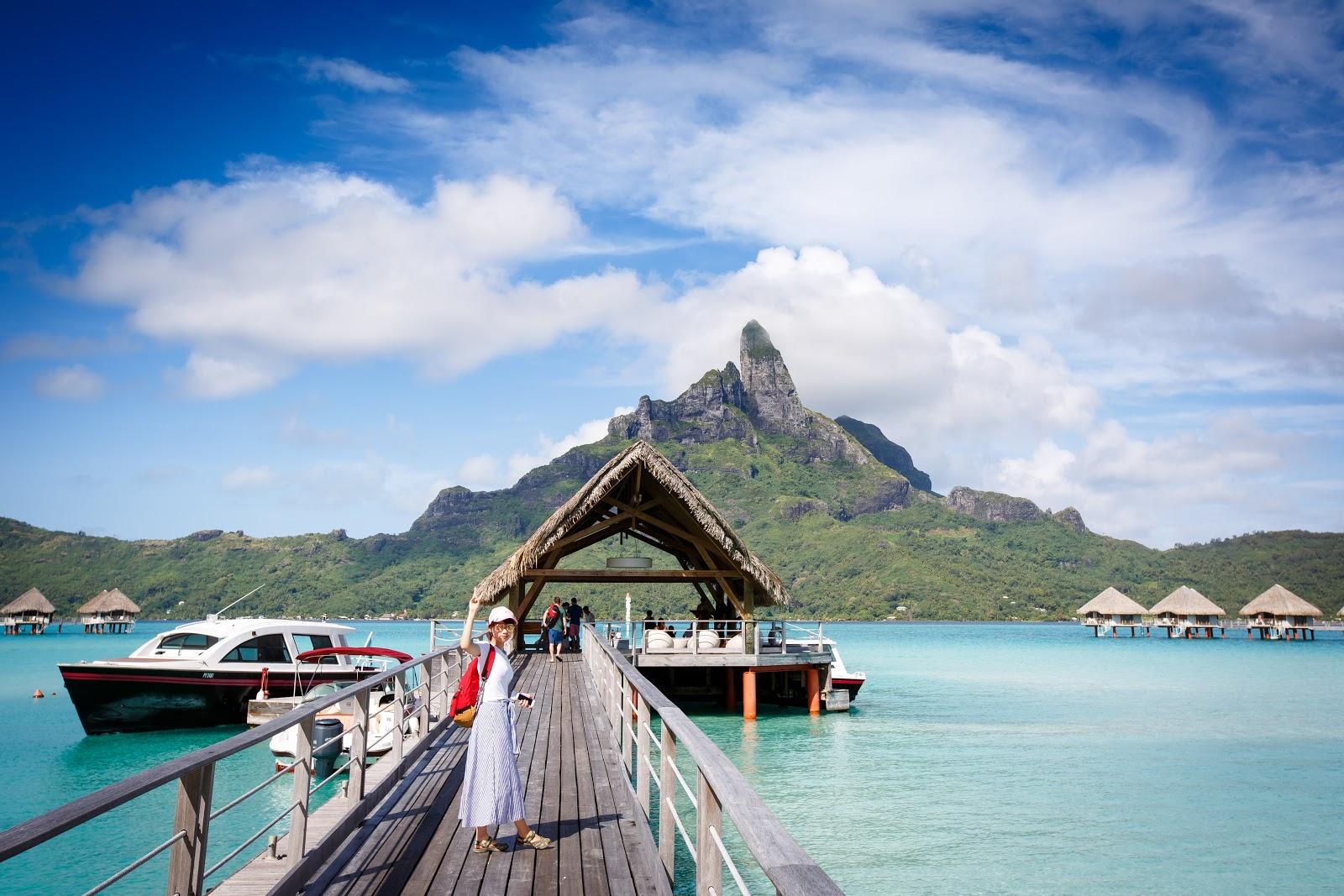 Le Meridien Bora Bora 艾美酒店的私人碼頭