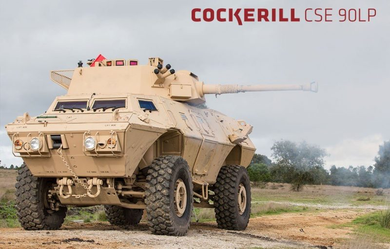 CMI Defence Cockerill CSE 90LP
