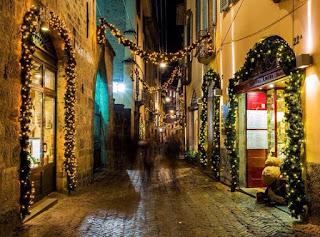 Notte Bianca di Natale 15 dicembre Bergamo Alta 2016