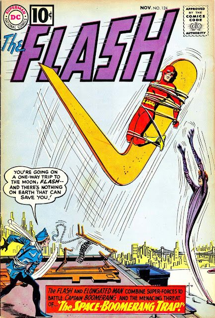 The Space-Boomerang Trap: The Flash #124 (1961), part 1