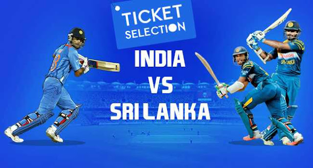 India vs Sri Lanka Ticket Booking: 3 Tests, 3 ODI and T20Is 2017