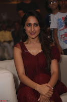Pragya Jaiswal in Stunnign Deep neck Designer Maroon Dress at Nakshatram music launch ~ CelebesNext Celebrities Galleries 115.JPG
