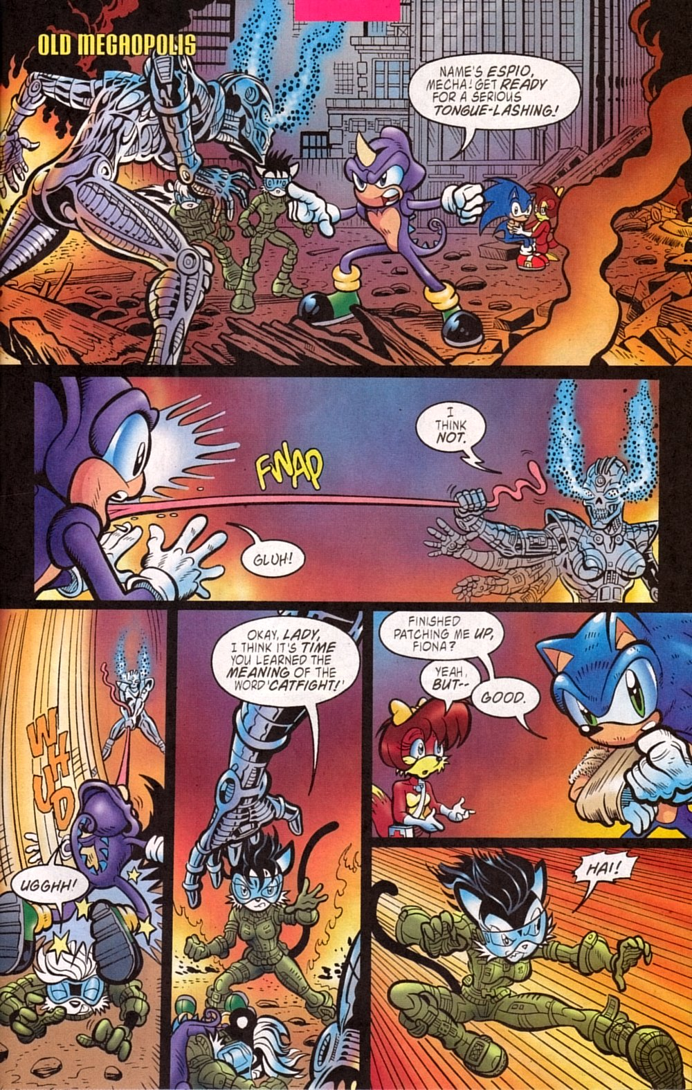 Read online Sonic The Hedgehog comic -  Issue #133 - 21