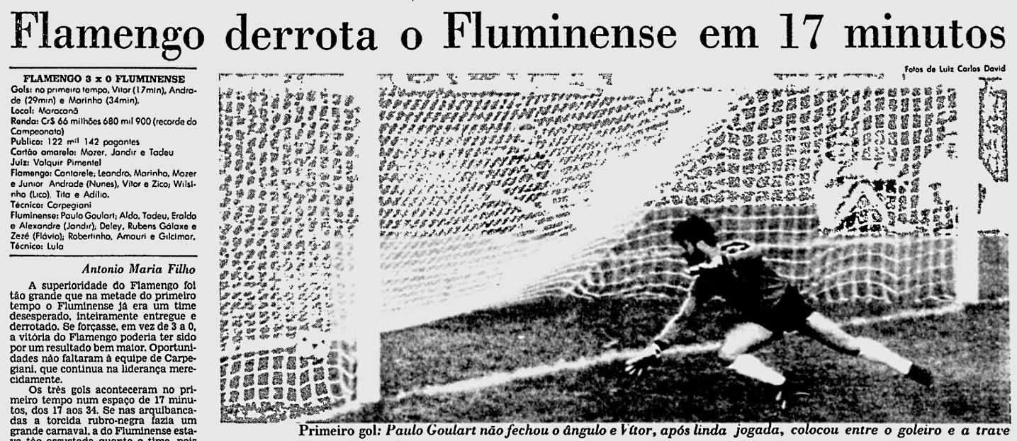 8287a4bb8b A alucinante movimentação do Flamengo não parecia conhecer limites. Júnior