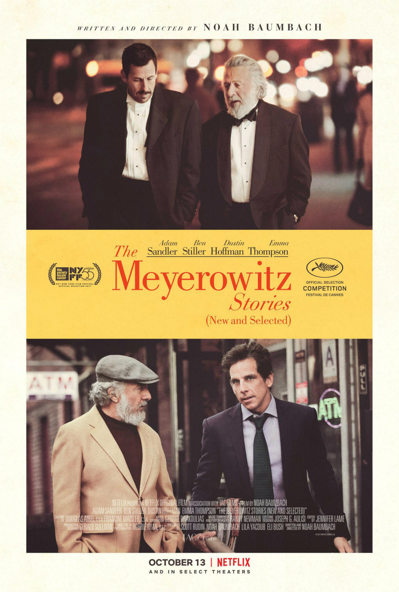 THE MEYEROWITZ STORIES poster
