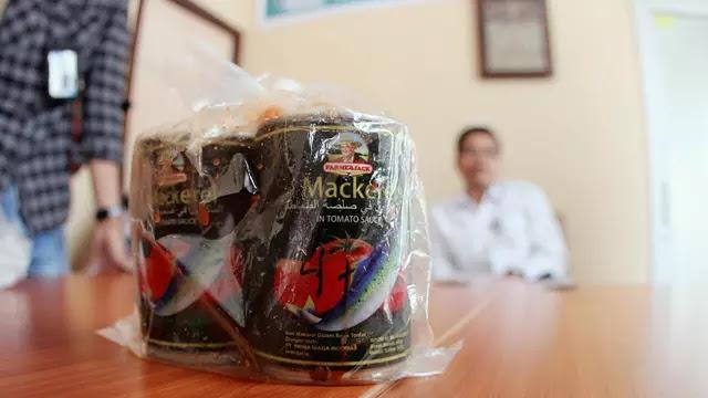BBPOM Ungkap Merek 3 Sarden Bercacing di Riau