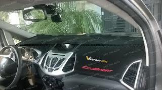 thảm taplo ford ecosport